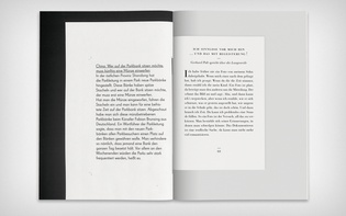 Spread with printed and scanned texts