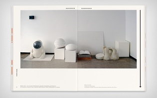Spread from the catalogue section