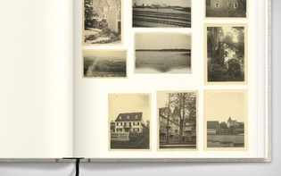 "Detail of a spread dedicated to ""unpopulated places"""